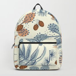 Winter floral Backpack