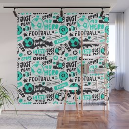 Art Football. Pattern#3 Wall Mural