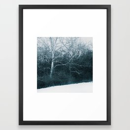 Blue January No.2 Framed Art Print