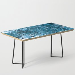 Circuitry Abstract Coffee Table