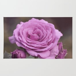 Light Lilac Pink Rose #1 #floral #art #society6 Rug