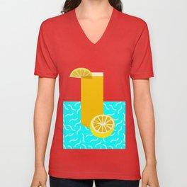 Lemonade /// www.pencilmeinstationery.com Unisex V-Neck