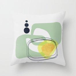 Modern minimal forms 46 Throw Pillow