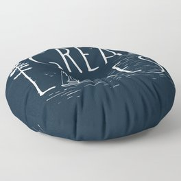 Great Lakes Floor Pillow