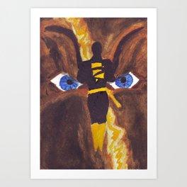 The Mad God of Khandaq Art Print