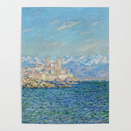 Claude Monet Antibes Afternoon Effect Poster