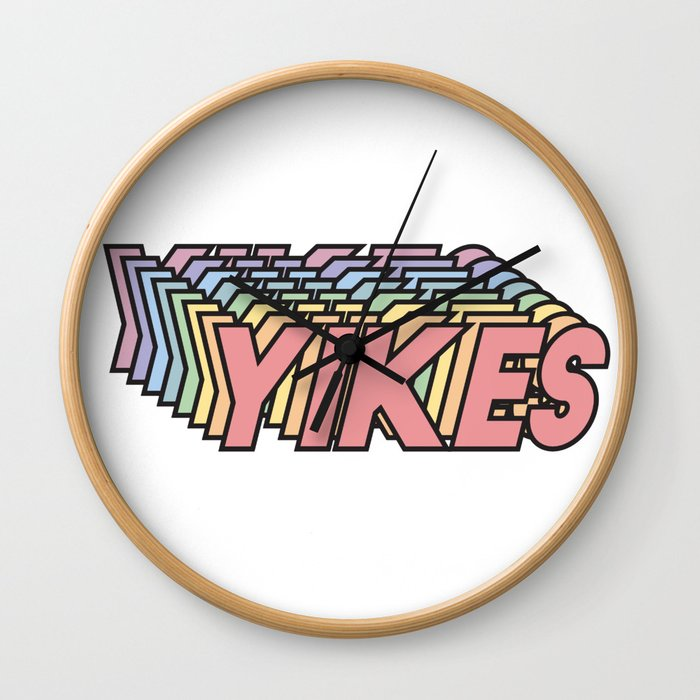 YIKES Wall Clock