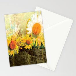 seven flowers Stationery Cards