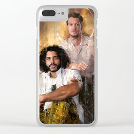 Dinamico Duo Clear iPhone Case