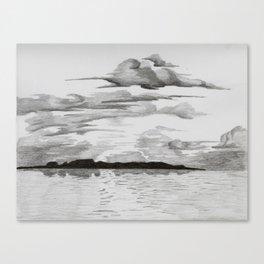 Thunder Bay Sleeping Giant Canvas Print