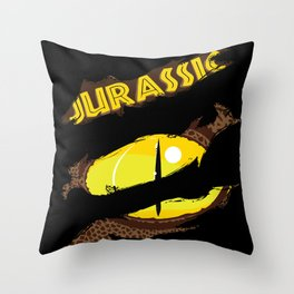 Jurassic - The Raptor Throw Pillow