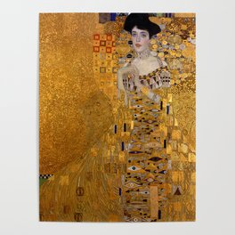 The Woman In Gold Bloch-Bauer I by Gustav Klimt Poster