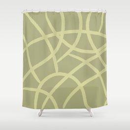 beige giraff print Shower Curtain