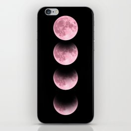 Pink Moon iPhone Skin