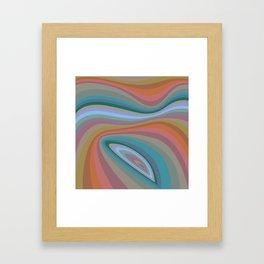 Waves 01 Framed Art Print