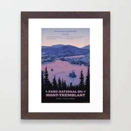 Parc National du Mont-Tremblant Framed Art Print