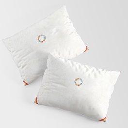 """Hilma af Klint """"The Dove, No. 14, Group IX-UW, No. 38"""" Pillow Sham"""