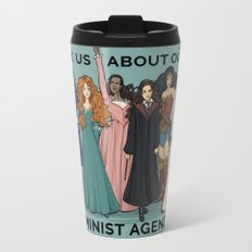 Feminist Agenda Travel Mug