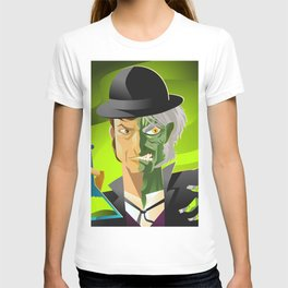 doctor jekyll and mister hyde monster tranformation with green potion T-shirt