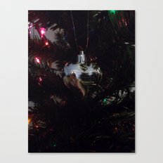 The heart of Christmas Canvas Print