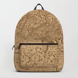Map of Virginia 1698 Backpack