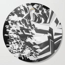 Shades Of Grey Cutting Board