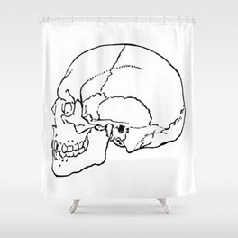 Skull 1 Shower Curtain