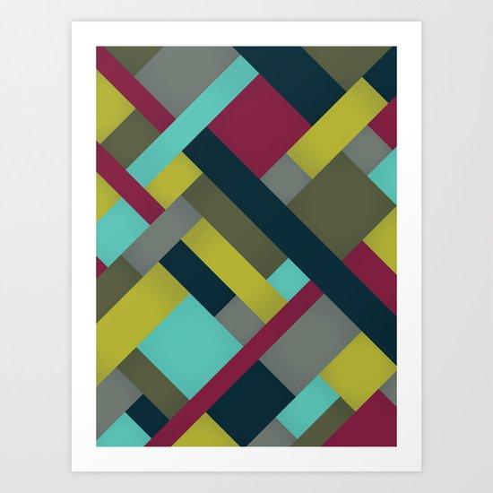 Abstrakt Adventure Ver. 2 Art Print