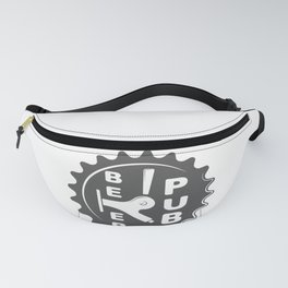 Black Beer Pub Brewery Handcrafted style Fashion Modern Design Print! Fanny Pack
