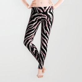Zebra fur texture print Leggings