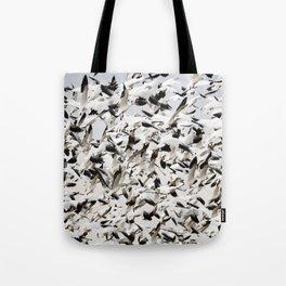 Snow Goose Blizzard Tote Bag