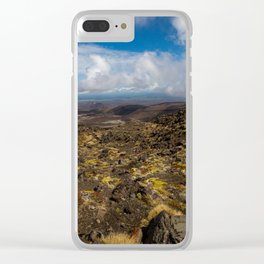 Tongariro National Park, NZ Clear iPhone Case