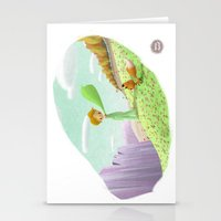 the little prince Stationery Cards featuring LITTLE PRINCE by David Pavon