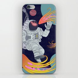 Cosmonaut iPhone Skin