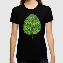 Elephant Ear Alocasia – Green Palette T-shirt