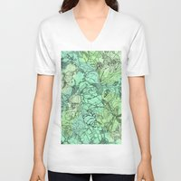 insects V-neck T-shirts featuring Insects by David Bushell