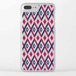 AFE Diamond  Pattern Clear iPhone Case