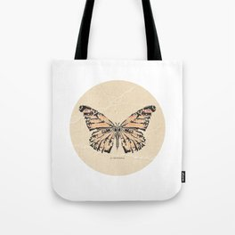 Bullet with Butterfly Wings Tote Bag