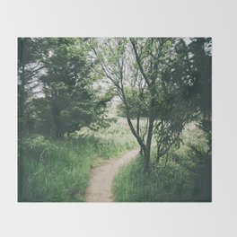 Happy Trails IX Throw Blanket