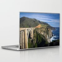 big sur Laptop & iPad Skins featuring Big Sur by Brie Anne Demkiw