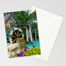Water Wheel at the Village Stationery Cards