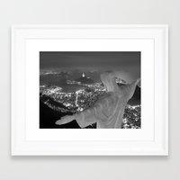 rio de janeiro Framed Art Prints featuring Brazil Rio de janeiro by Al13500