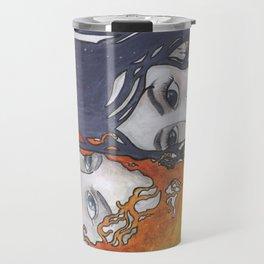 Antara and Meridian: Fire and Darkness Travel Mug