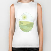 easter Biker Tanks featuring Easter Tale by Anita Ivancenko