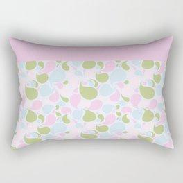 Pink Pastel drops Rectangular Pillow