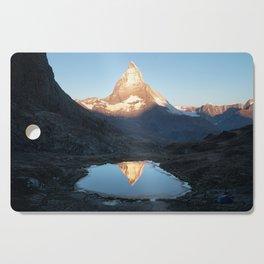 Matterhorn Sunrise Cutting Board