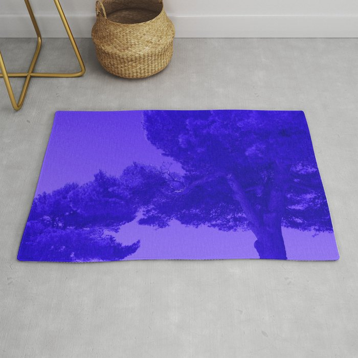 Blue Summer Pines Rug