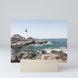 Portland Head Light - Portland, ME - Photography Mini Art Print