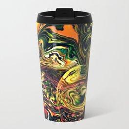Waves in the sea Travel Mug