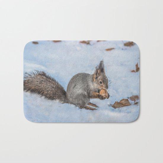 Hard nut to crack Bath Mat